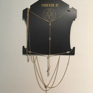 Forever 21 Bodychain with Crystals